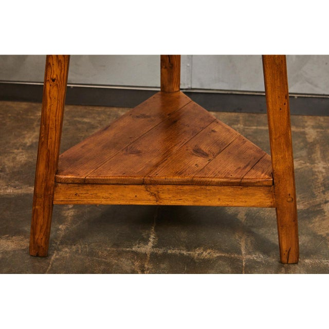 19th c. English Cricket Table For Sale - Image 4 of 6