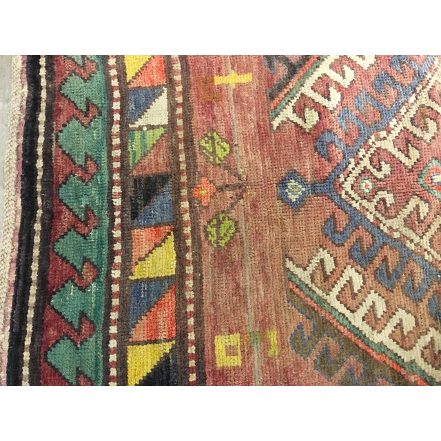 "Vintage Bellwether Rugs Turkish Oushak Rug - 5' x 9'3"" - Image 7 of 10"