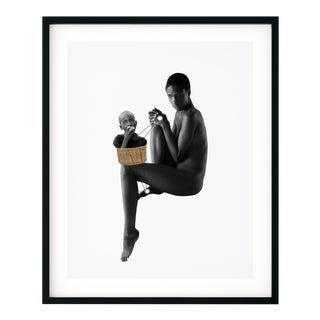 'And I'll Brace for You' Original Collage Print by by Rochelle Sodipo, Framed For Sale