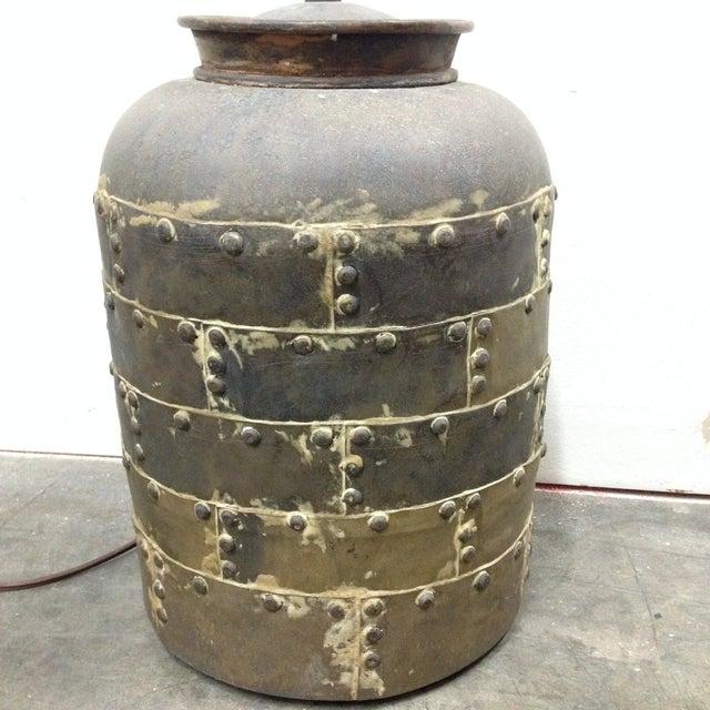 Brutalist Vintage Chapman Brutalist Lamp For Sale - Image 3 of 11