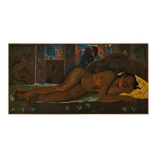 "1940s Paul Gauguin, ""Nevermore"" Original Swiss Lithograph For Sale"