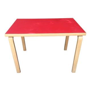 1960s Mid-Century Modern Alvar Aalto Table For Sale