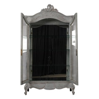 French Louis XV Style Two-Door Display Cabinet Preview