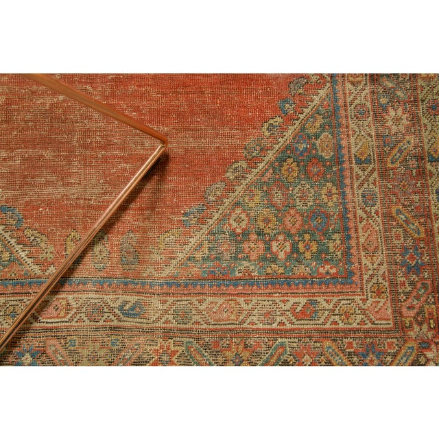 "Antique Fereghan Rug - 3'7"" X 6'1"" - Image 6 of 8"