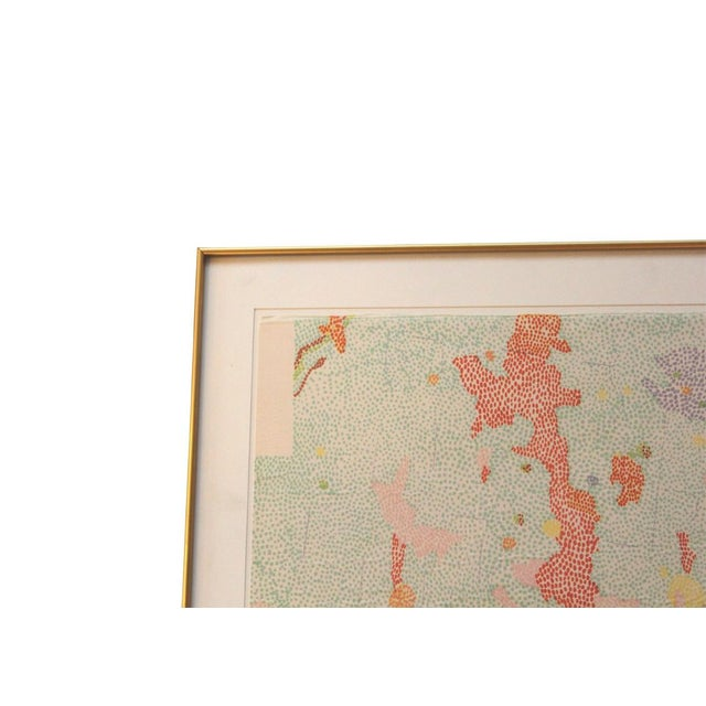Color Lithograph by Nancy Stevenson Graves - Image 2 of 4