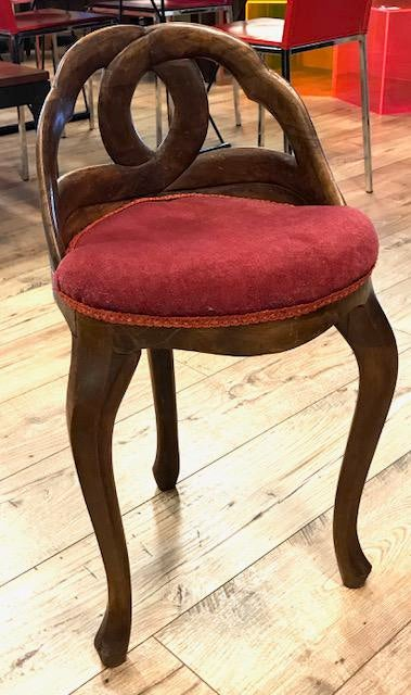 Antique Corner Or Vanity Chair For Sale   Image 11 Of 11