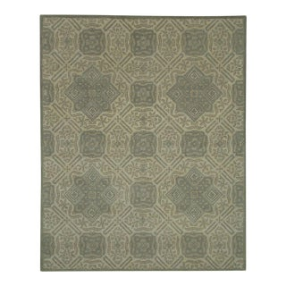 Gray Traditional Pattern Rug - 8' x 10'