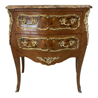 Late 19th Century Paul Sormani Stamped Commode For Sale
