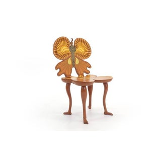 1980s Vintage Pedro Friedeberg Butterfly Chair Preview