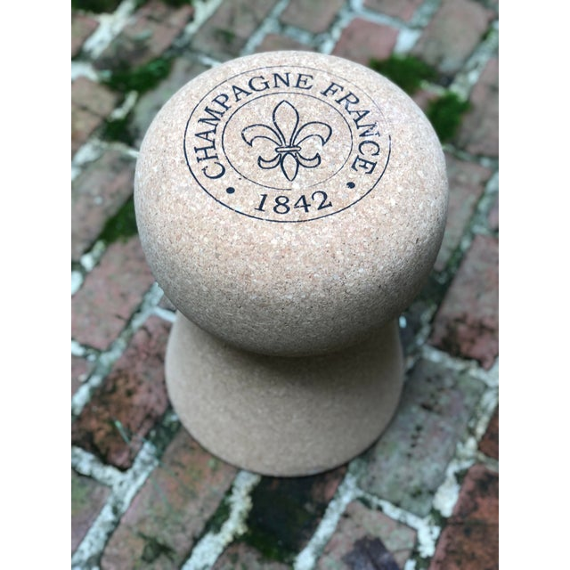 Cork Champagne Cork Side Table For Sale - Image 7 of 10
