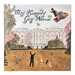"""Mrs. Kennedy Goes Abroad"" Book"