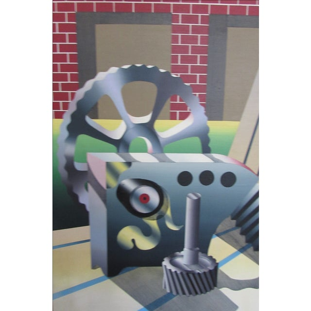 Industrial Age Painting - Image 5 of 6