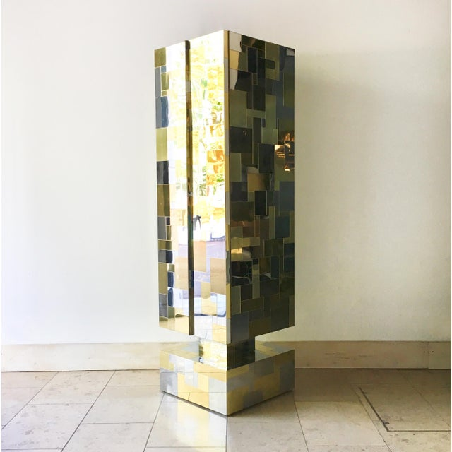 Pair of Totem Cityscape Cabinets by Paul Evans 1970s For Sale - Image 6 of 12