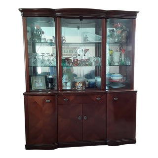 Alf Group Italian Wall Unit Cabinet For Sale