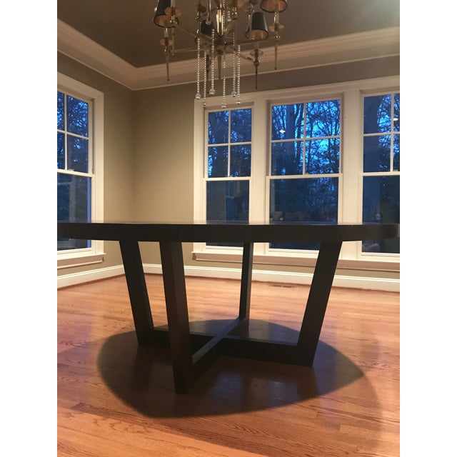 Italian 72 Inch Round Dining Table For Sale - Image 9 of 13