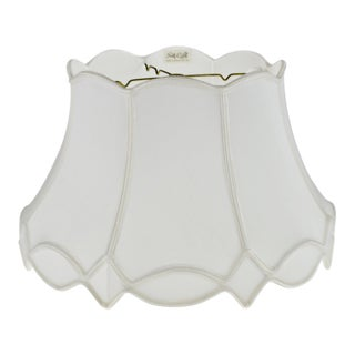 Vintage Nos Silk O Lite Scalloped Edge Lamp Shade For Sale