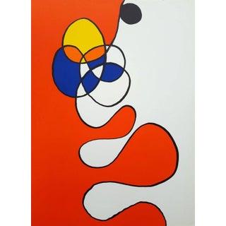 1968 Alexander Calder Original Lithograph For Sale