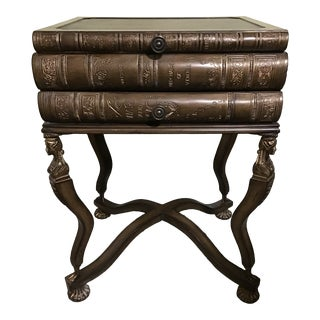 Maitland Smith Style Pulaski Book Lady Table Last Markdown For Sale