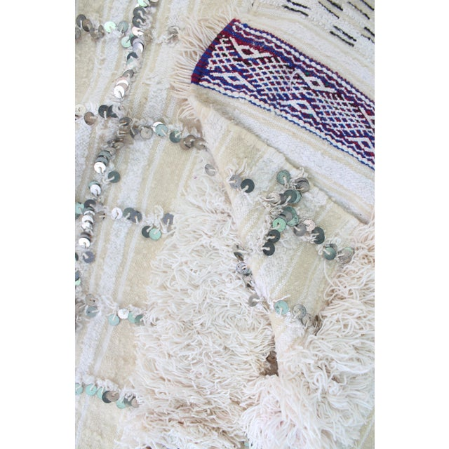 Vintage Handira Wedding Blanket - Image 5 of 5