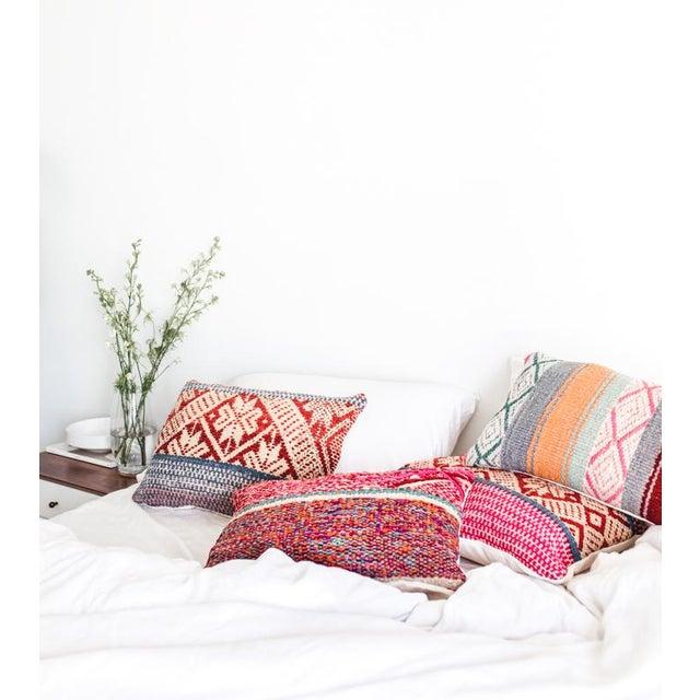 Pastel Peruvian Frazada Pillow - Image 4 of 4