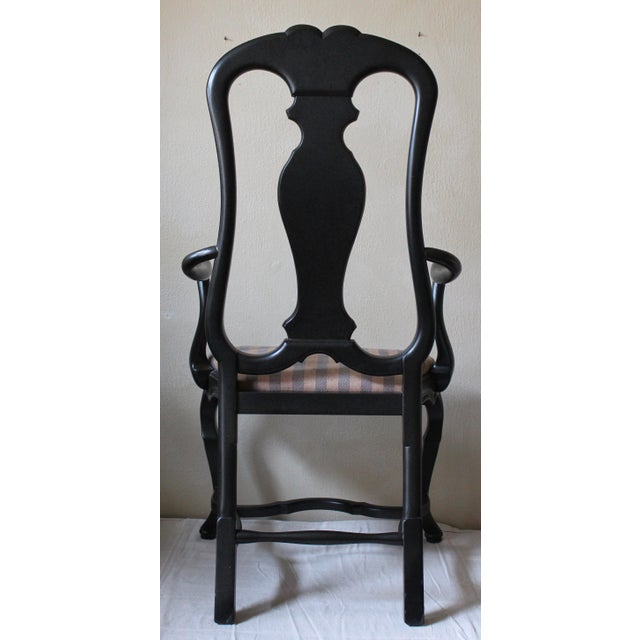 Queen Anne Style Dining Chairs - Set of 10 - Image 5 of 10