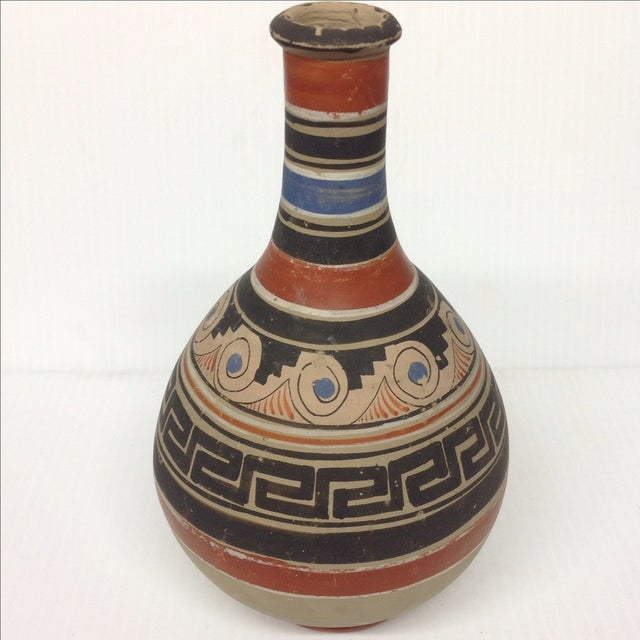 Mid-Century Native American Pottery Vase & Bowl - Image 4 of 5