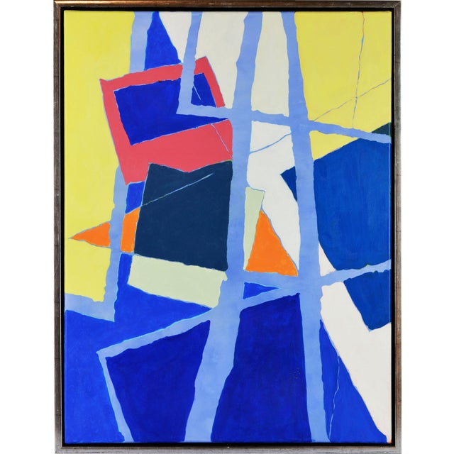 """Early 21st Century Abstract Original Painting, """"Composition"""" by Anders Hegelund - Image 1 of 11"""