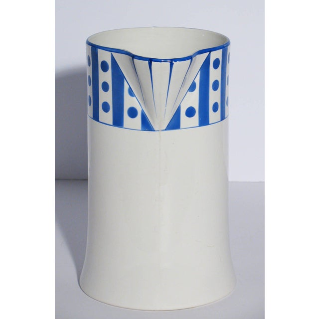 Large Belgian Porcelain Pitcher and Bowl - Image 3 of 9