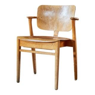 """1950s Vintage Ilmari Tapiovaara """"Domus"""" Armchair For Sale"""