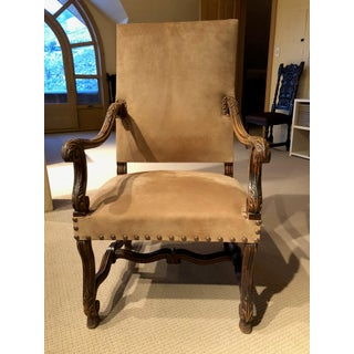Vintage Bergere Arm Chairs- A Pair Preview