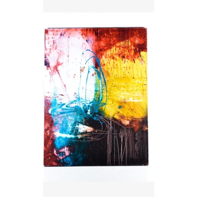 Abstract Giclee Canvas Print by Michael Leah Keck - Image 2 of 8