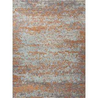 Schumacher Karol Area Rug in Hand-Knotted Wool Silk, Patterson Flynn Martin For Sale