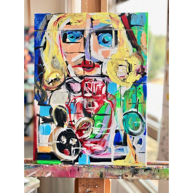 J J Justice Contemporary Painting For Sale - Image 11 of 11