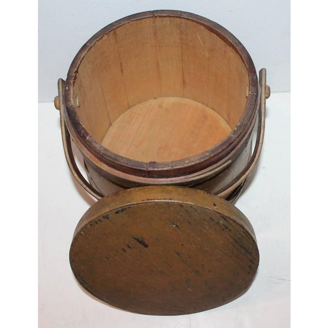 Group of Three Assorted Furkins or Buckets For Sale - Image 4 of 9