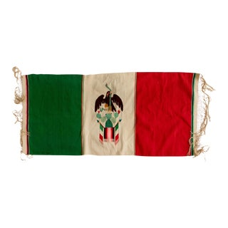 1940s Mexican Flag Serape