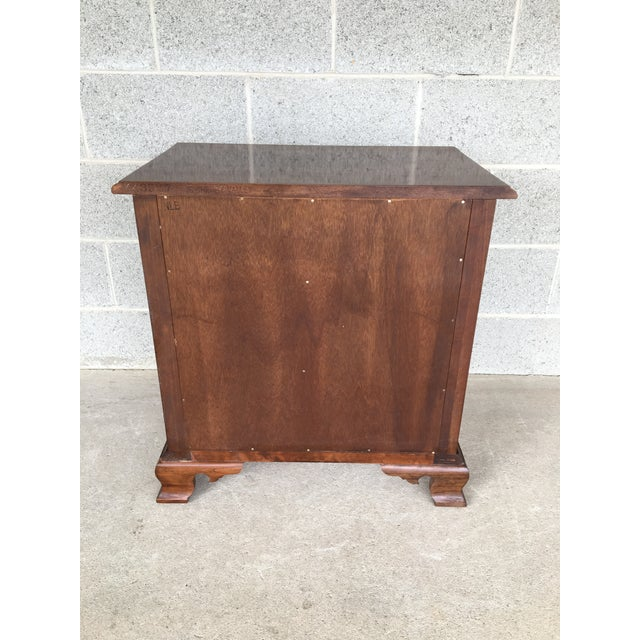 Stickley Cherry Valley Chippendale Style 3 Drawer Nightstand For Sale In Philadelphia - Image 6 of 9