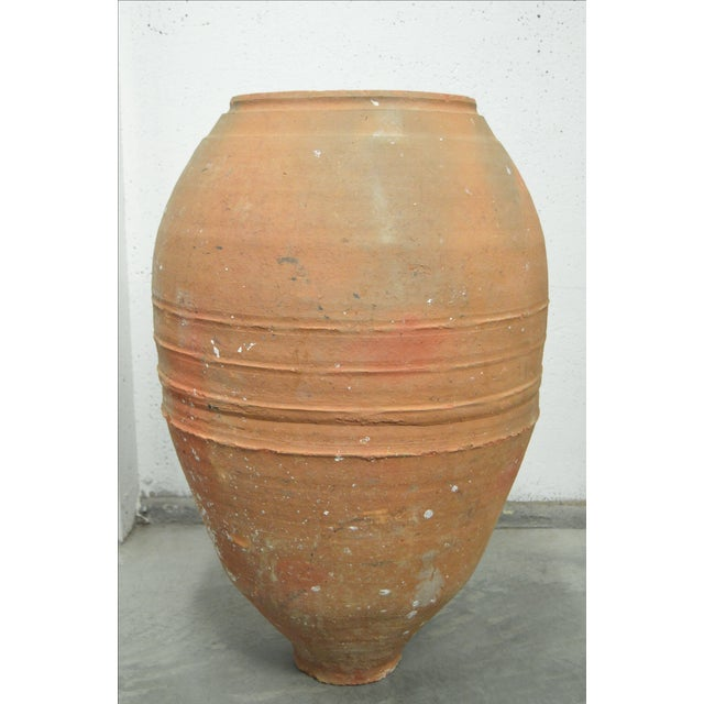 Greek Antique Pottery Water Jug - Image 2 of 4