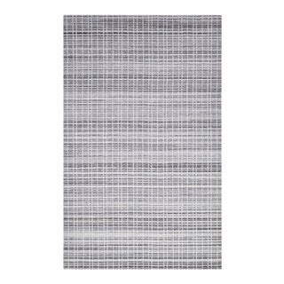 Finley, Contemporary Modern Loom Knotted Area Rug, Pewter, 12 X 15 For Sale