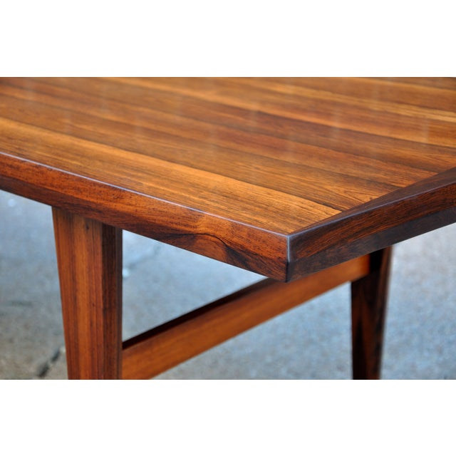 Mid-Century Danish Rosewood Coffee Table - Image 5 of 8
