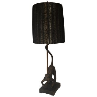 Monkey Business Table Lamp For Sale