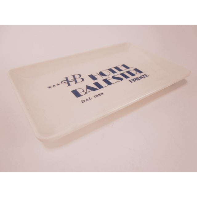 Vintage Hotel Balestri Italian Tip Tray - Image 4 of 6