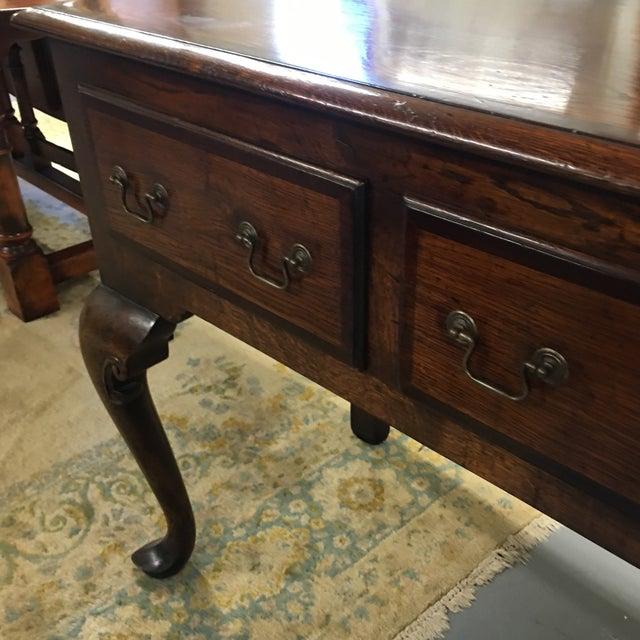 English Oak Low Sideboard Dresser For Sale In Philadelphia - Image 6 of 10