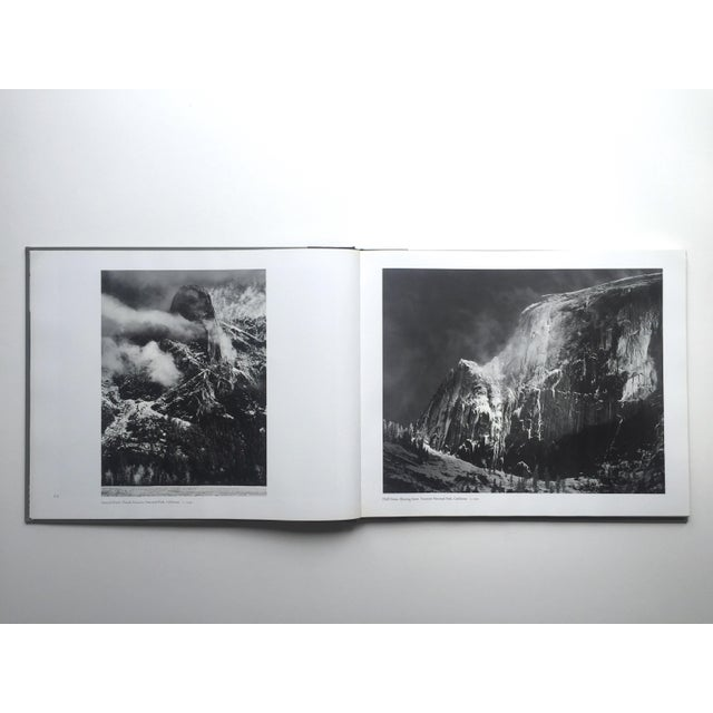 """"""" Ansel Adams Images """" Rare 1st Edition 1974 Oversized Monumental Slipcase Collector's Book For Sale - Image 4 of 13"""