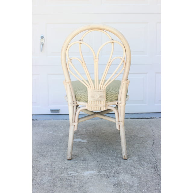 Vintage Rattan/Bamboo Accent or Desk Chair - Image 3 of 6