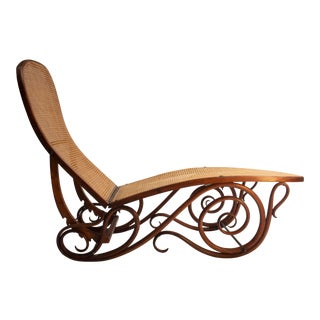 Bentwood Chaise Lounge Barcelona For Sale