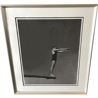 Vanity Fair Black and White Diver Photograph For Sale