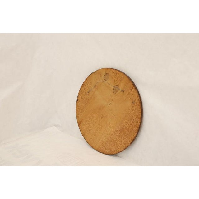 Round Wooden Wall Plaque Sculpture Sunburst For Sale In New York - Image 6 of 8