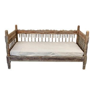 Early 21st Century Indian Wooden Daybed
