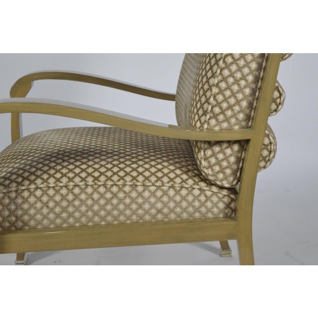 J. Robert Scott Salon Deco Lounge Chairs by Sally Sirkin Lewis- Set of 8 For Sale In Dallas - Image 6 of 10