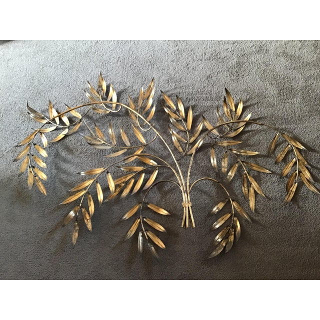 French Italian French Wheat Sheaf Wall Sculpture, Italy Last Markdown For Sale - Image 3 of 8